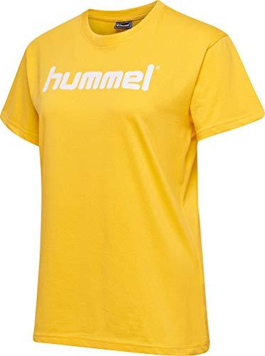 Hummel Female, Damen HMLGO Cotton Logo T-Shirt Woman S/S