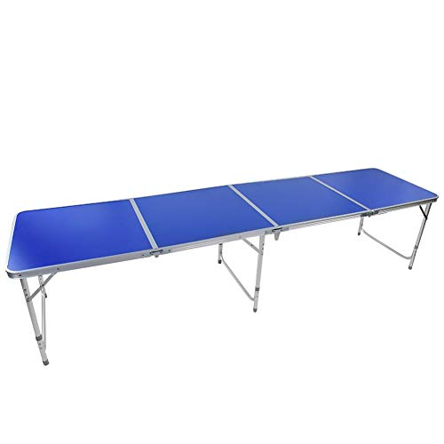 Learn More About AYNEFY 8 Foot Beer Pong Table, Indoor Outdoor Portable Home Easy to instasll Lightw...
