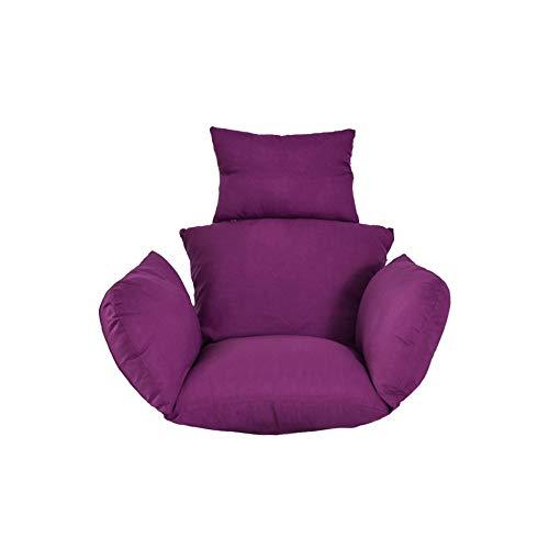 seraphicar - Cuscino per sedia a amaca, vari colori Lilla