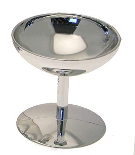 24 Mini Plastic Champagne Cups Glasses Wedding Favor Silver