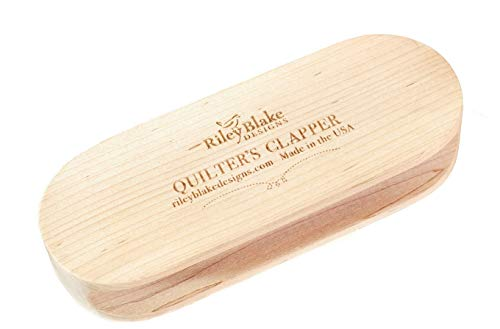 7 Inch Quilter's Tailor Wooden Clapper Tool Steam Iron Set a Seam Sewing Quilting