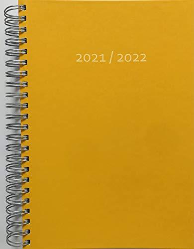 2021/2022 Dicker Kalender (31.7.21-31.7.22) – GRAPEFRUIT – Spiralbindung – pro Tag eine volle DIN A4 Seite Platz – Tageskalender | Bürokalender | Terminkalender