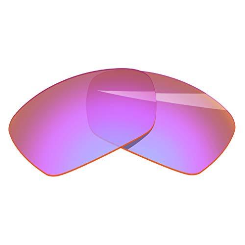 BlazerBuck - Repuesto de lente polarizada y pieza de nariz para Oakley Plaintiff Squared