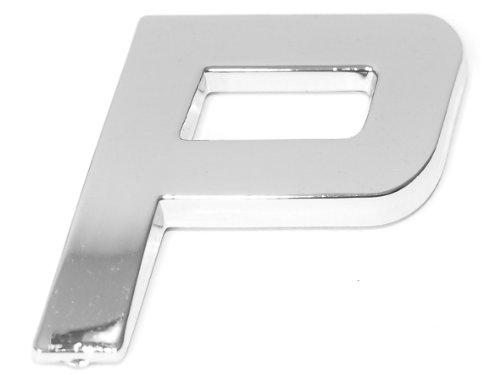Eufab 30326 3d-letter P Car-logo