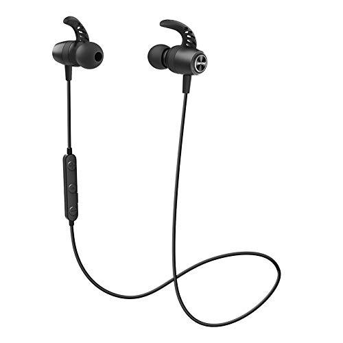 【Bluetooth 5.0】 Mpow S16 Ecouteur Bluetooth Sport, IPX7 Ecouteur sans Fil Sport,12H Autonomie,Ecouteur Bluetooth San Fil Appels Mains Libres&CVC 6.0 Micro Anti-Bruit pour Jogging,Bureau, iOS&Android