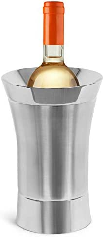 BirdRock Home Stainless Steel Wine Chiller Elegant Double Wall Bucket Single Insulated Bottle product image