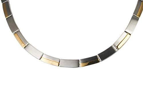 Magnetschmuck Halskette Stil bicolor
