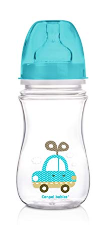 Canpol babies cb35221 a – Biberon anticólicos évasée