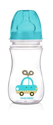 Canpol Babies CB35221A - Biberón anticólicos boca ancha