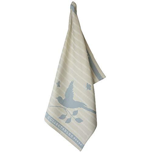 Laura Ashley - Paño de cocina / paño de secado - Cobblestone Bird - 100% algodón - 70 x 50 cm