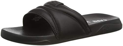 CARE OF by PUMA Slide Flip Flops, Schwarz (Black-White), 43 EU
