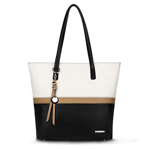 Pomelo Best Handtasche Damen Shopper Groß Damen Tasche für Büro Schule Einkauf