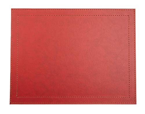 mantel antimanchas rojo de la marca Via Deco