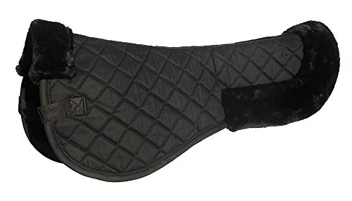 Rhinegold Comfort Saddle Pad-Full-Bl