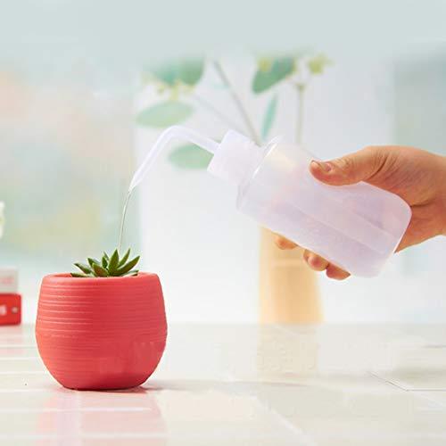 Luoshan Dispositivo di irrigazione in Vaso for Fiori in Vaso con Bottiglia di gocciolamento Curved Mrip Bottle, capacità: 250ml