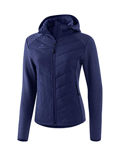 ERIMA Damen Steppjacke, new navy, 48, 2061908