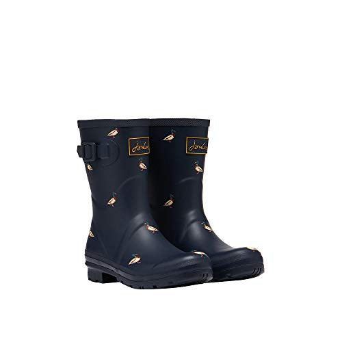 Joules Molly Welly, Stivali di Gomma Donna, Blu (Blue Floral Bluflrl), 40...