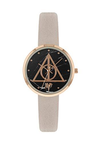 Harry Potter Reliquias de la Muerte Rosa Reloj analógico