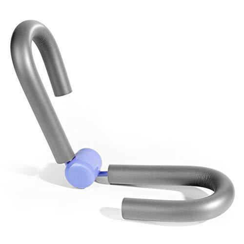 Knowooh Multifunktionale Sportgerät Oberschenkeltrainer Premium Qualität Beinpresse für Zuhause für Bauch, Beine, Po(grau)