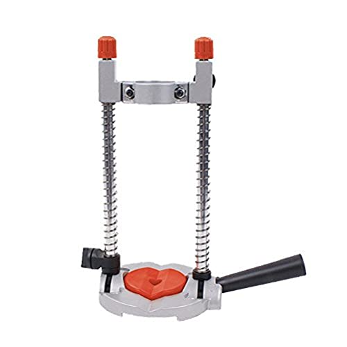 Connex COM870800 Mobile/Swivellable Drilling Stand, Silver/Black/Red