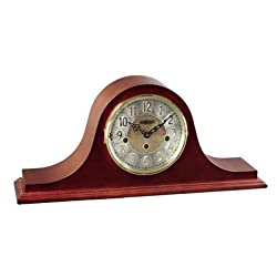 Hermle Black Forest Clocks Tambour Clock Dial in Cherry