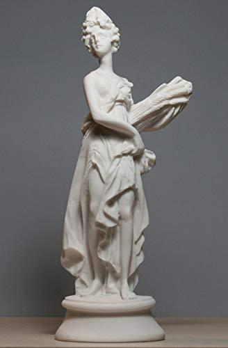 Demeter Ceres - Figura decorativa de diosa romana griega, hecha a mano