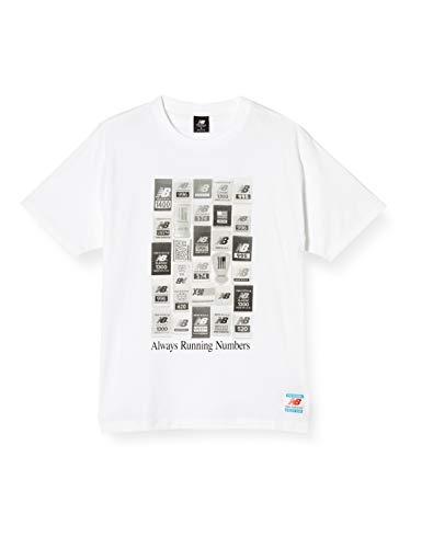 [ニューバランス] Tシャツ NB Essentials ブランドラベル パックTシャツ コットン100% MT11526 ホワイト(WT) 日本 XL (日本サイズXL相当)