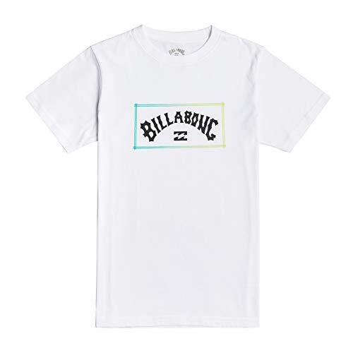 Billabong Arch - Camiseta para Chicos Camiseta, Niños, White, 14