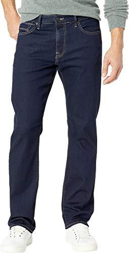 Mavi Mens Matt Relaxed Straight Leg Jeans, Deep Rinse Soft Move, 32W x 34L