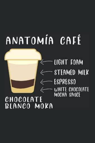 Café Chocolate Moka Grano - Cafetera Cappuccino Barista Cuaderno De Notas: Formato A5 I 110 Páginas I Regalo Como Diario Planificador O Agenda
