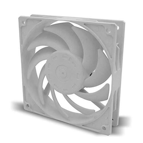 Runtodo PWM 4Pin 12Cm 120Mm Enfriador Ventilador de RefrigeracióN Control de Temperatura Ventilador Silencioso 12V 4Pin 0.5A Computadora PC Ventilador de Enfriamiento
