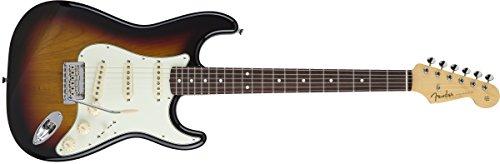 Fender MIJ Hybrid '60s Stratocaster, Rosewood, - 3-Color Sunburst