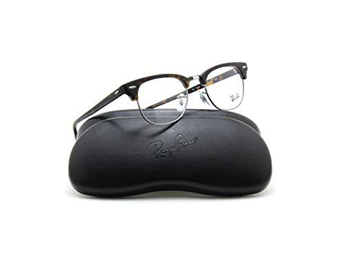 Ray-Ban RX5154 2012 Clubmaster Unisex Eyeglasses Dark Havana Frame 51mm