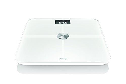 Withings スマート体重計 Smart Body Analyzer WS-50 ホワイト Wi-Fi/Bluetooth対応【日本正規代理店品】