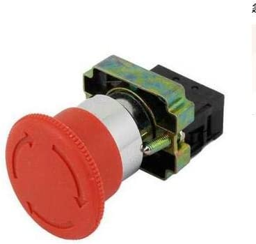 XB2 40% OFF Cheap Sale BS542 600V 10A 1NC RED Industri Twist Release Discount is also underway Emergency Stop
