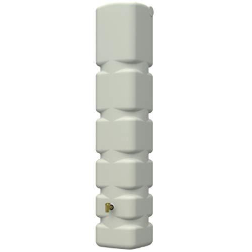 Suinga DEPOSITO AGUA polietileno 300 litros 42x40x210 cm beige. Incluye grifo de plástico.