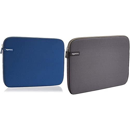 Amazon Basics Housse pour ordinateur portable, 13,3 Pouces, Marine