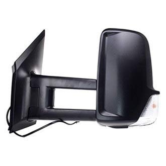 Pacific Best M44064 - Driver Side Power Towing Mirror (Heated)