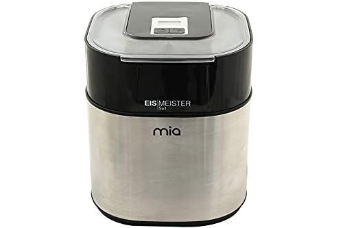 Mia Eismaschine Flaschenkühler Eiswürfelbehälter 5in1 Timer
