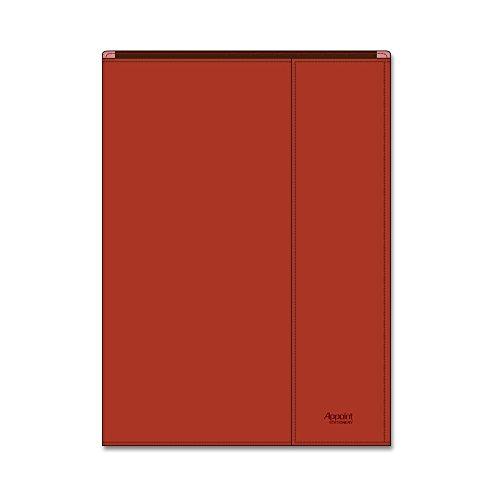 ダイゴー アポイントステーショナリー 手帳カバー A5 包むタイプ レッド N1816