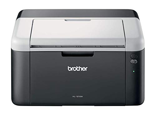 Brother HL-1212W Mono Laser Printer - Single Function, Wireless USB 2.0, Compact, 20PPM, A4 Printer, Home Printer