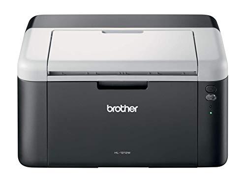 Brother HL-1212W Mono Laser Printer - Single Function, Wireless/USB 2.0, Compact, 20PPM, A4 Printer, Home Printer
