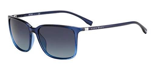 Hugo Boss Boss 0666/N/S, Gafas de sol Hombre, blu azzurro, 56