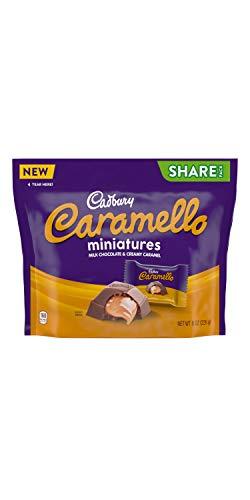 CADBURY CARAMELLO Milk Chocolate and Creamy Caramel Miniatures Share...