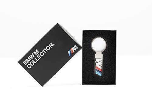 BMW Accessoires Schlüsselanhänger M Logo Gravur Geschenk individuell Wunschname meinname Geschenkidee