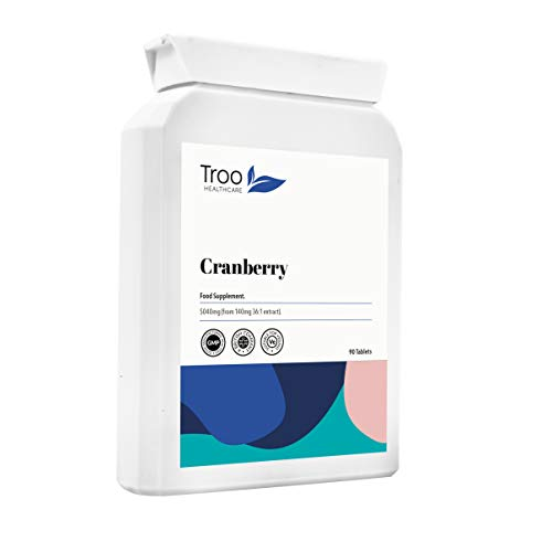Cranberry Supplement (5040mg) - 90 Tablets | High Strength Daily Supplement | UK Manufactured to GMP Standards