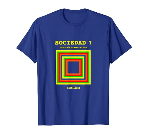Sociedad Libro Santillana Retro en época ochentera de la EGB Camiseta