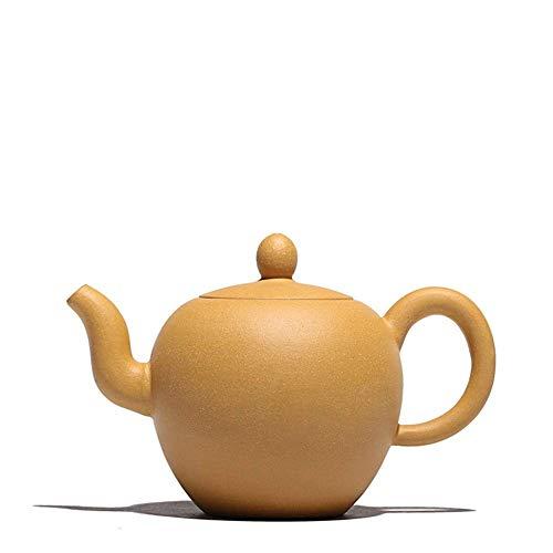 BINGFANG-W café Electrónica multímetro Tetera de Yixing del Mineral Segmento pote de Arcilla Tetera Amarilla Bellezas té Hombro Fabricante de Arena Pot (Color: Duan Mu) Juegos de té
