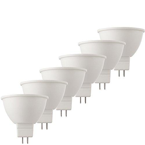 MÜLLER-LICHT 400286_Set A+, 6-er Set LED Reflektorlampe Ersetzt 40 W, Plastik, 6.5 W, GU5.3, weiß, 5 x 5 x 4.7 cm