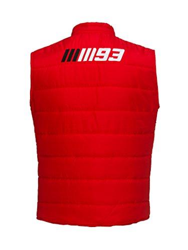 Marc Marquez 2018 93 Heren Officiële Gilet Body Warmer Taillejas Rood 100% Katoen